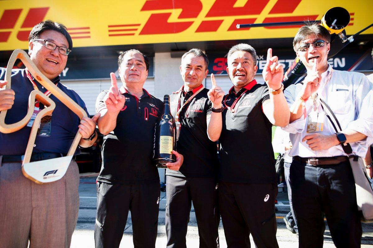 victoire honda en F1