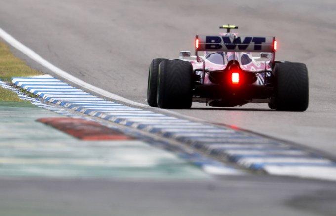 racing point gp hongrie