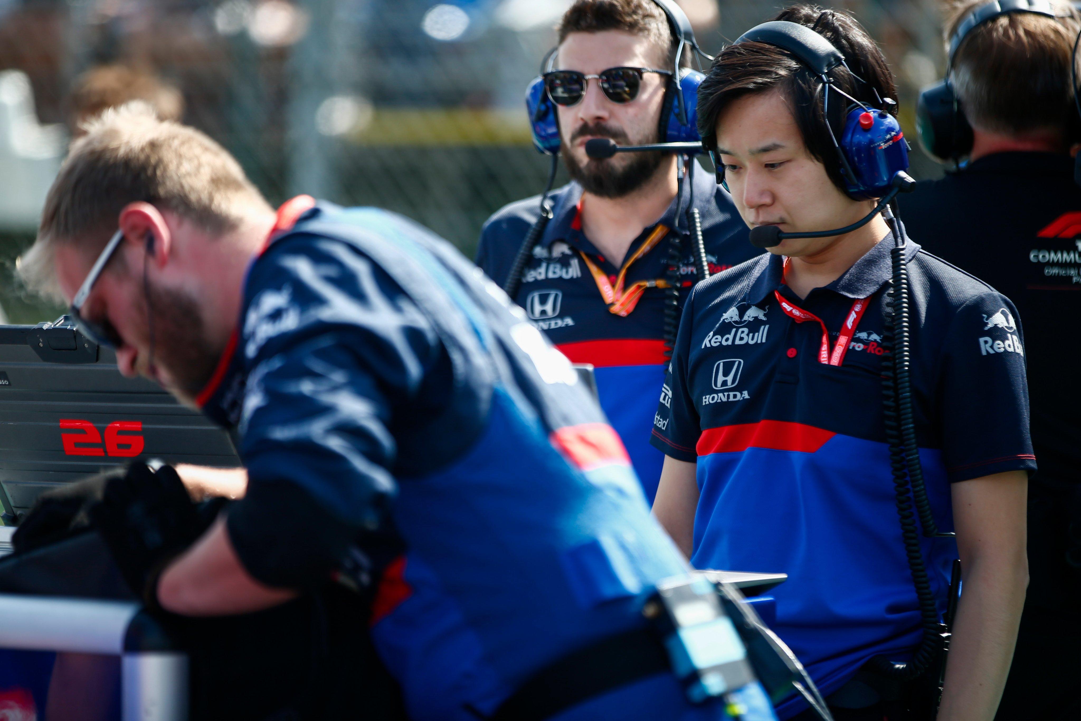 ingénieur honda en F1