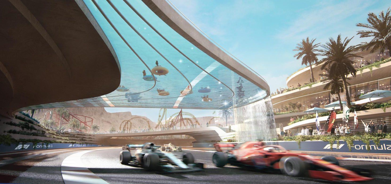 Vidéo : Qiddiya, un projet gigantesque avec un circuit de F1 en plein milieu 1