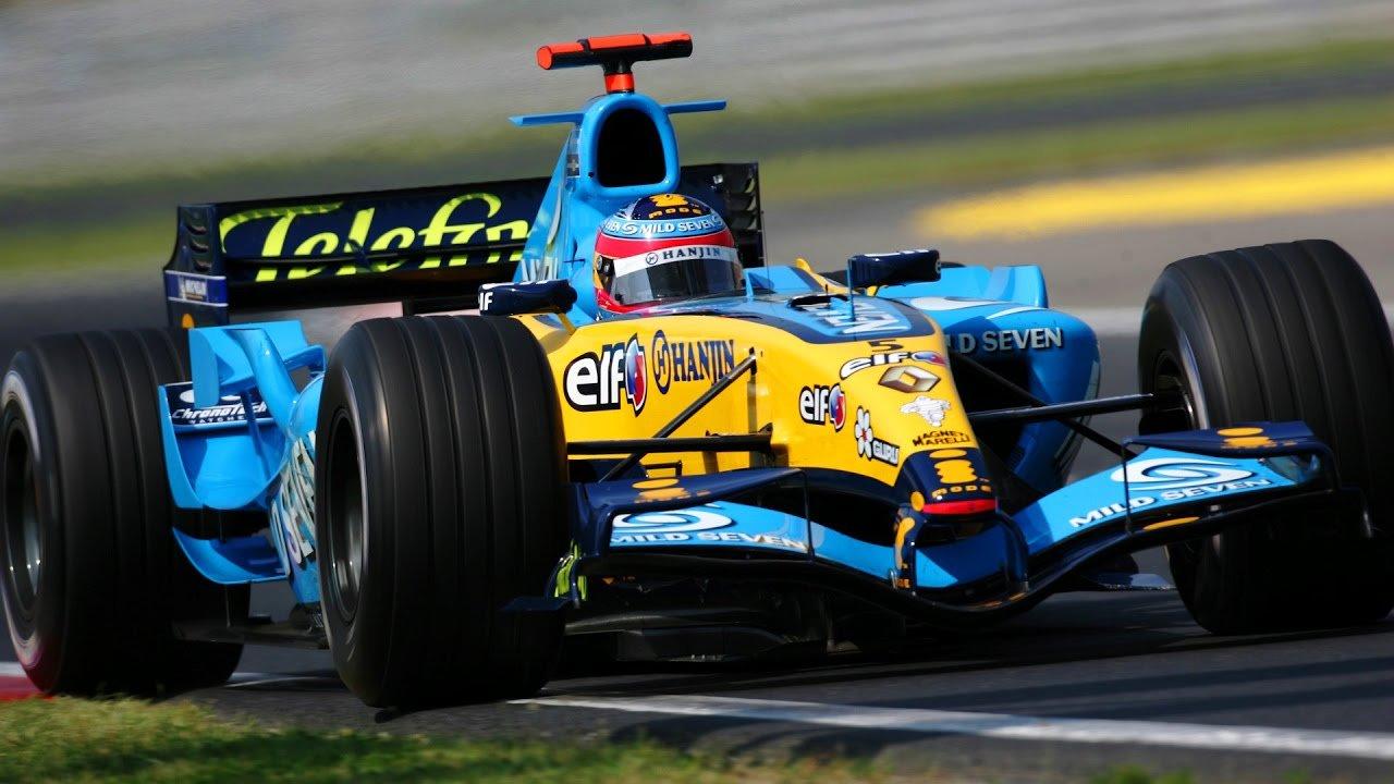 renault r25 f1 fernando Alonso