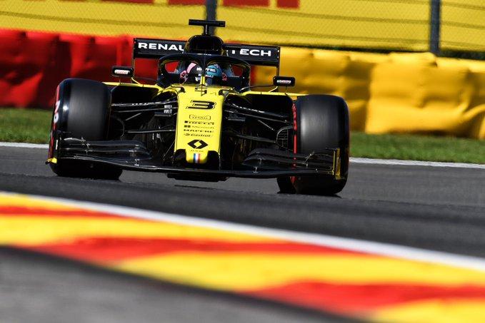 Renault a disputé le Grand Prix de Belgique en souvenir d'Anthoine Hubert 1