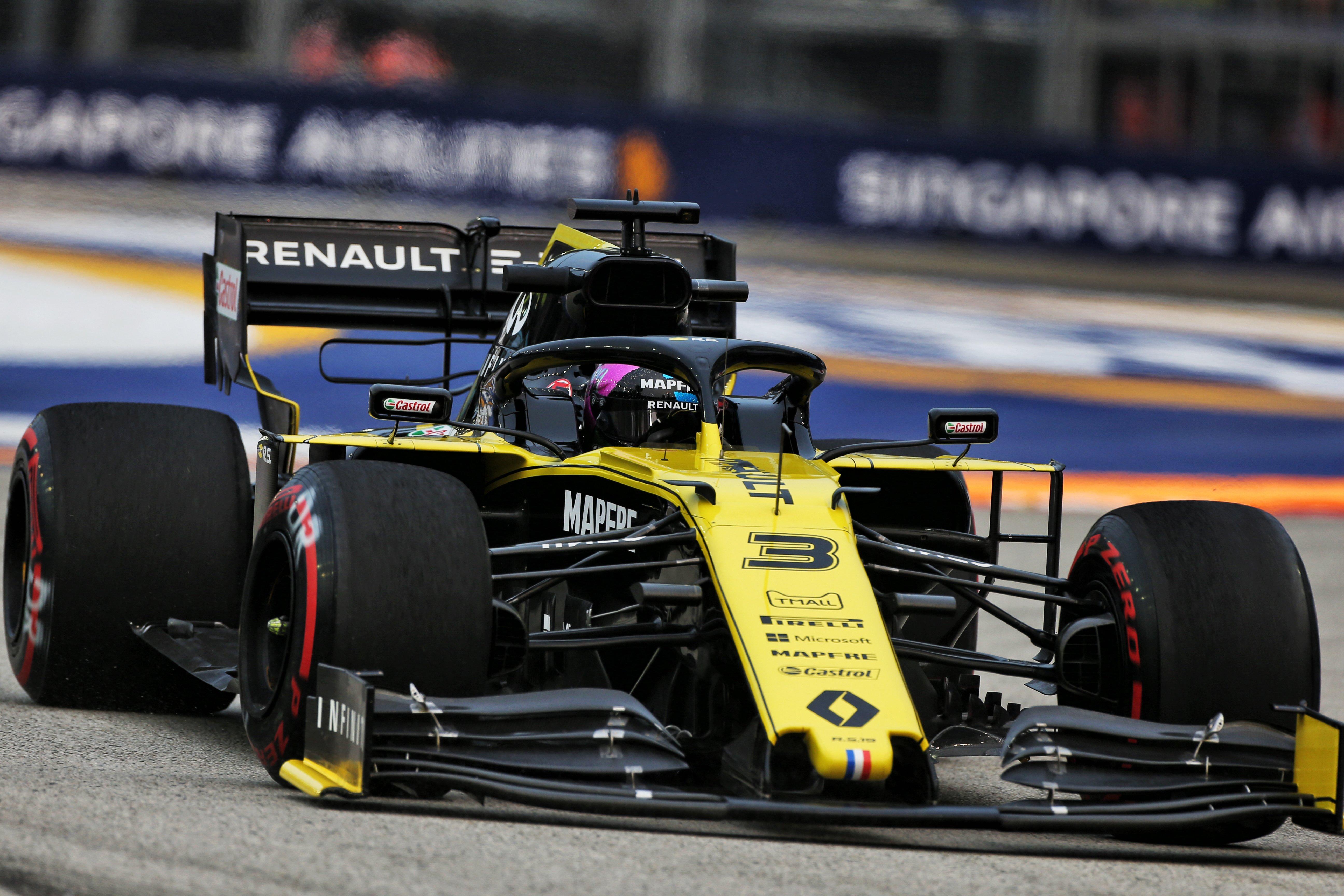 Un vendredi productif pour Renault F1 à Singapour 3
