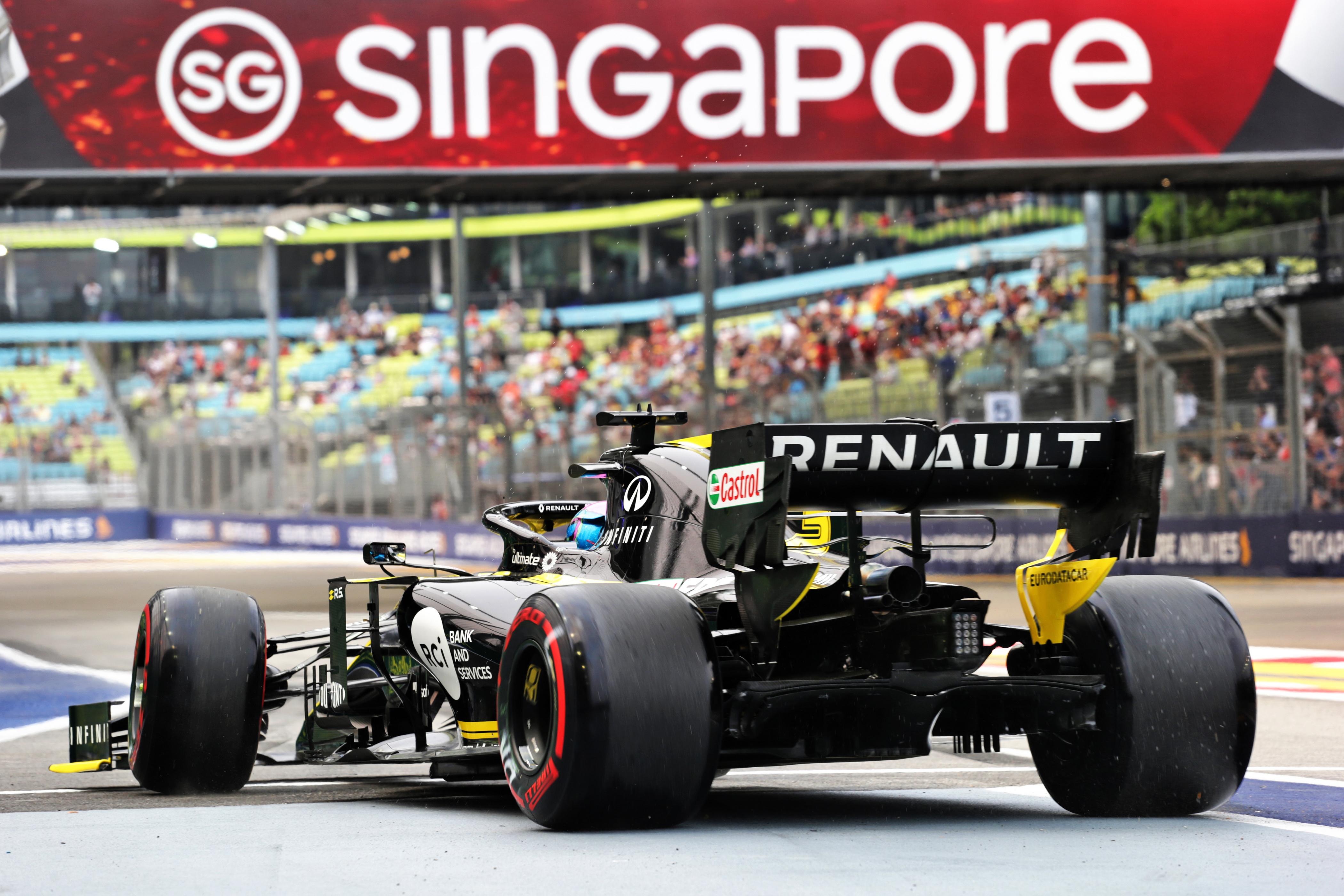 Renault F1 GP de Singapour F1