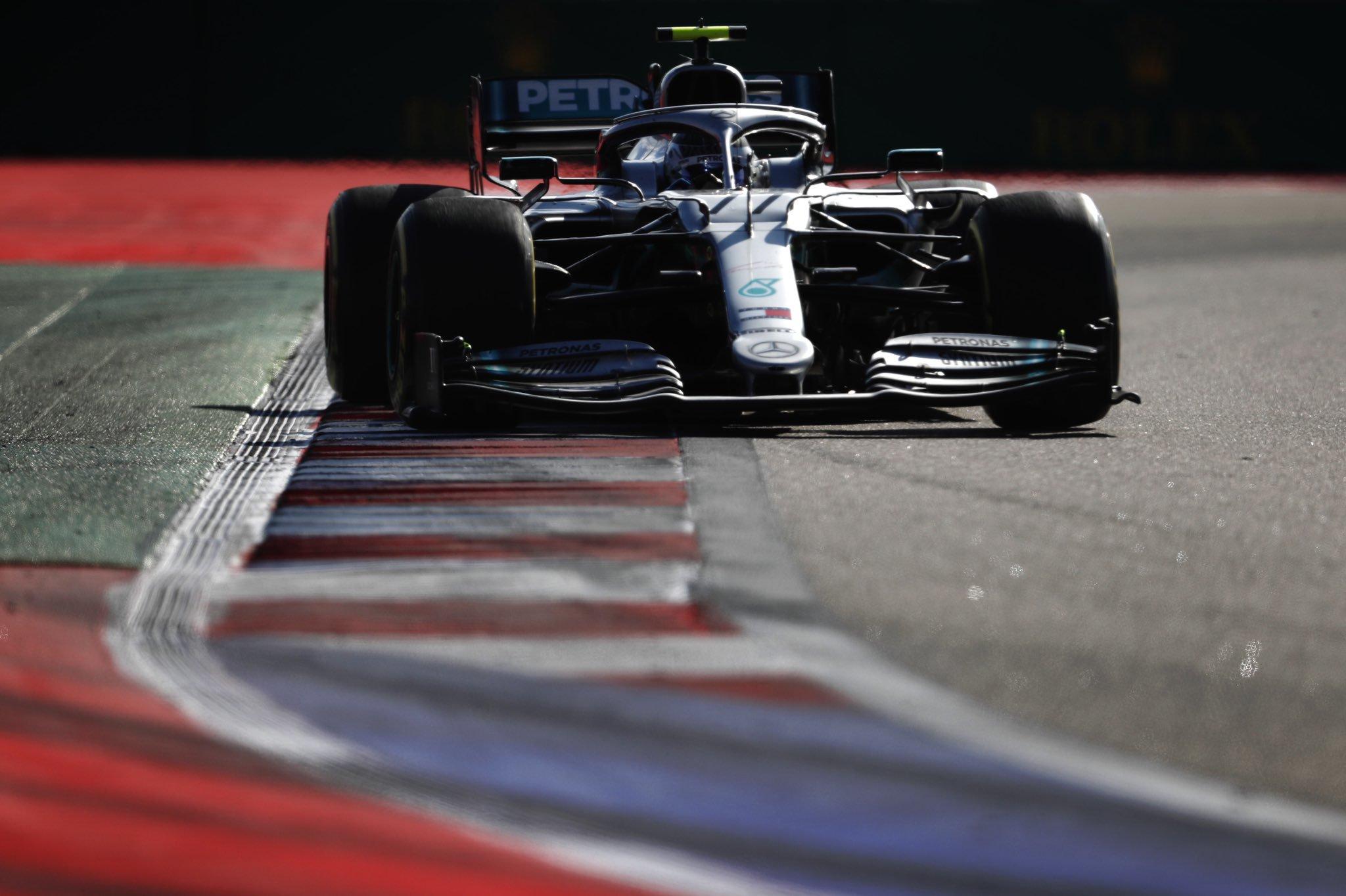 Mercedes F1 GP de Russie