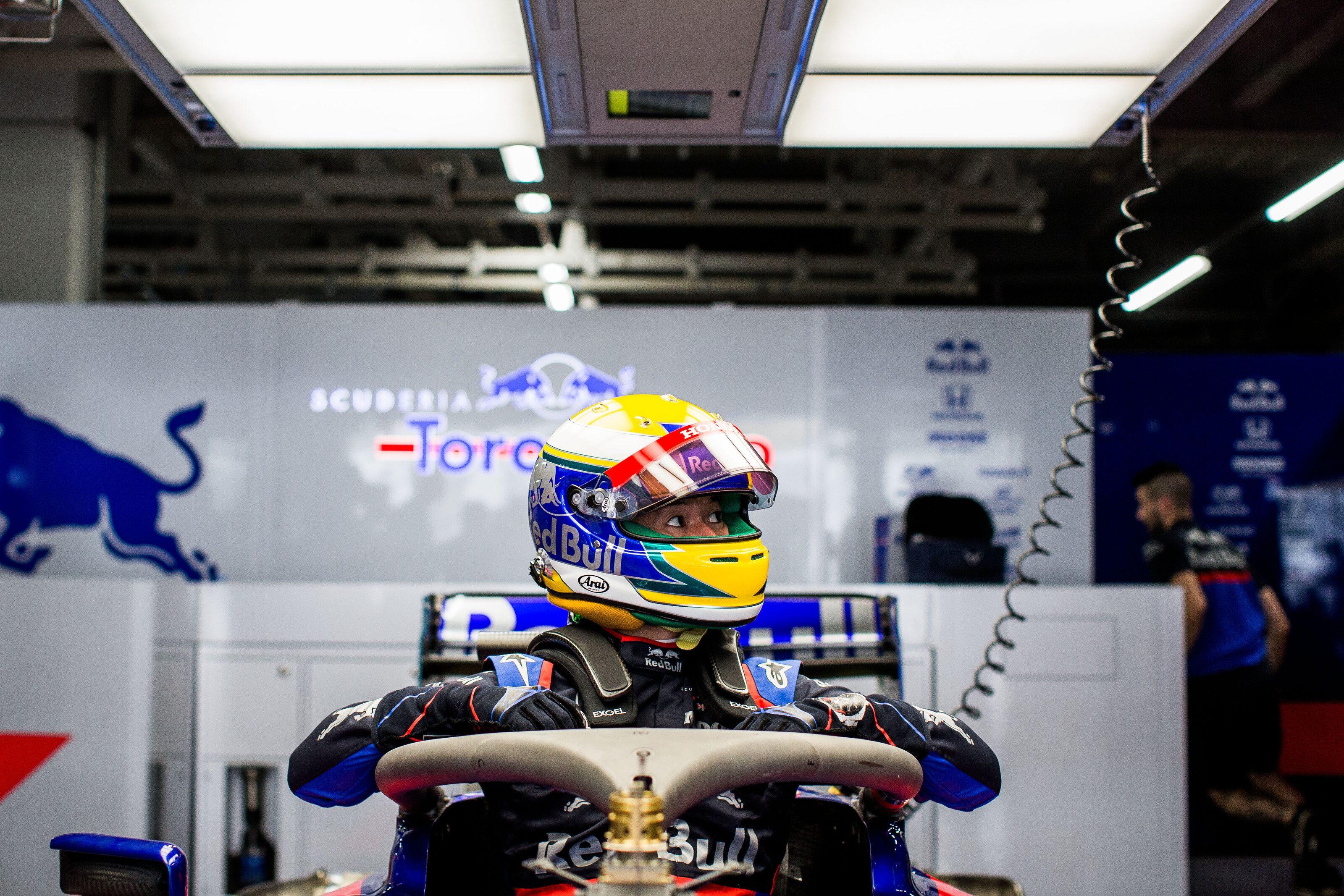 Naoki Yamamoto s'est excusé auprès de Pierre Gasly pour lui avoir emprunté sa Toro Rosso 3