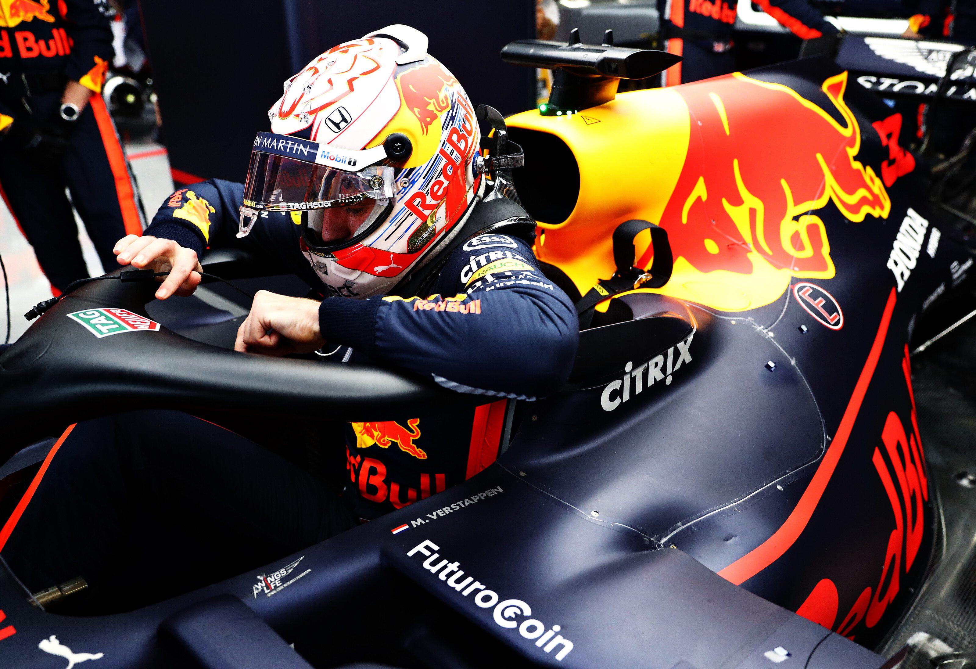 max Verstappen red bull racing