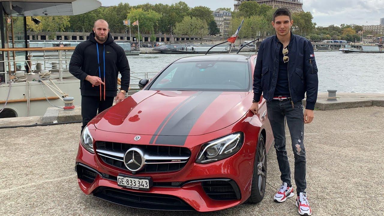 GMK et Esteban Ocon Mercedes