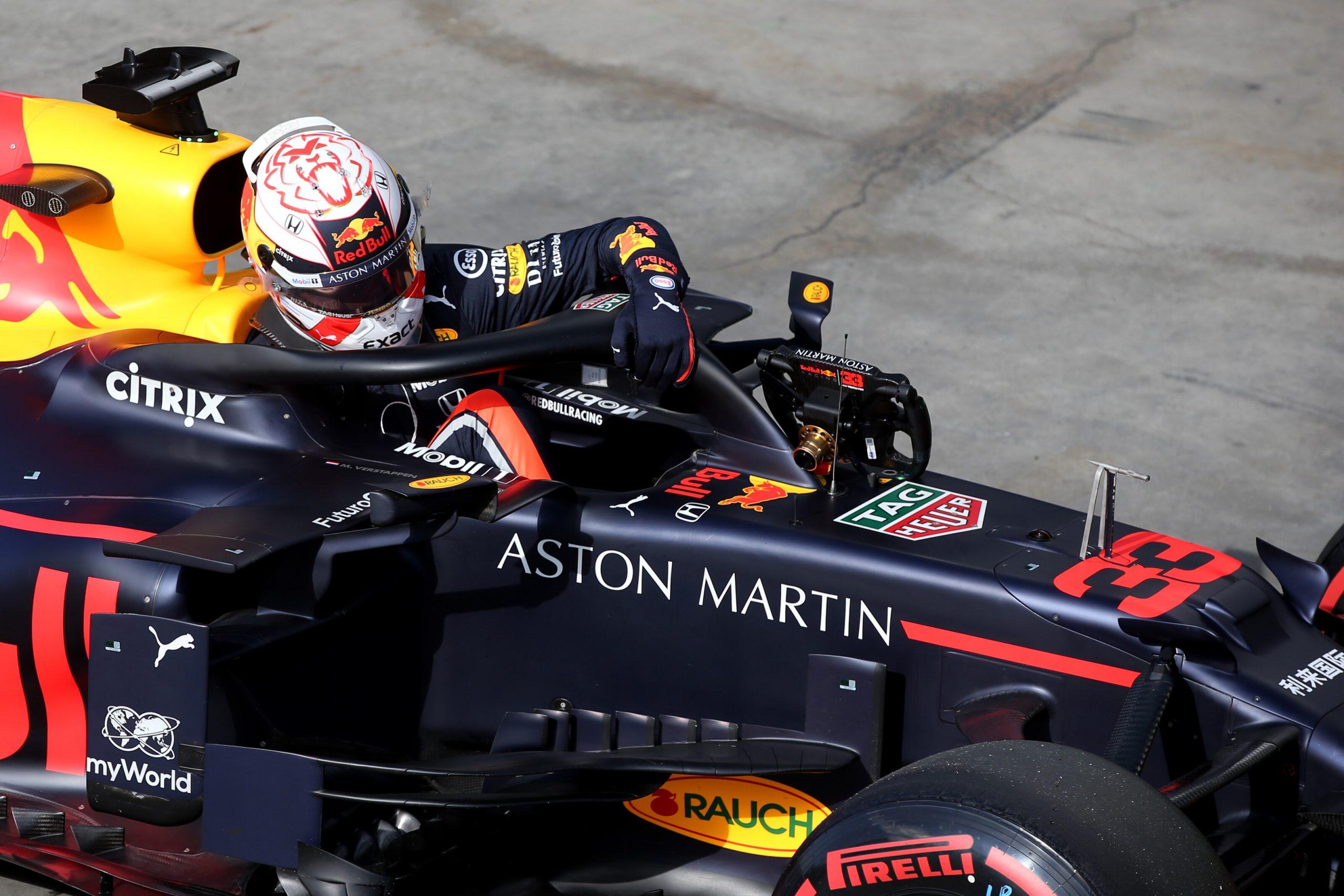 Max Verstapen Red Bull