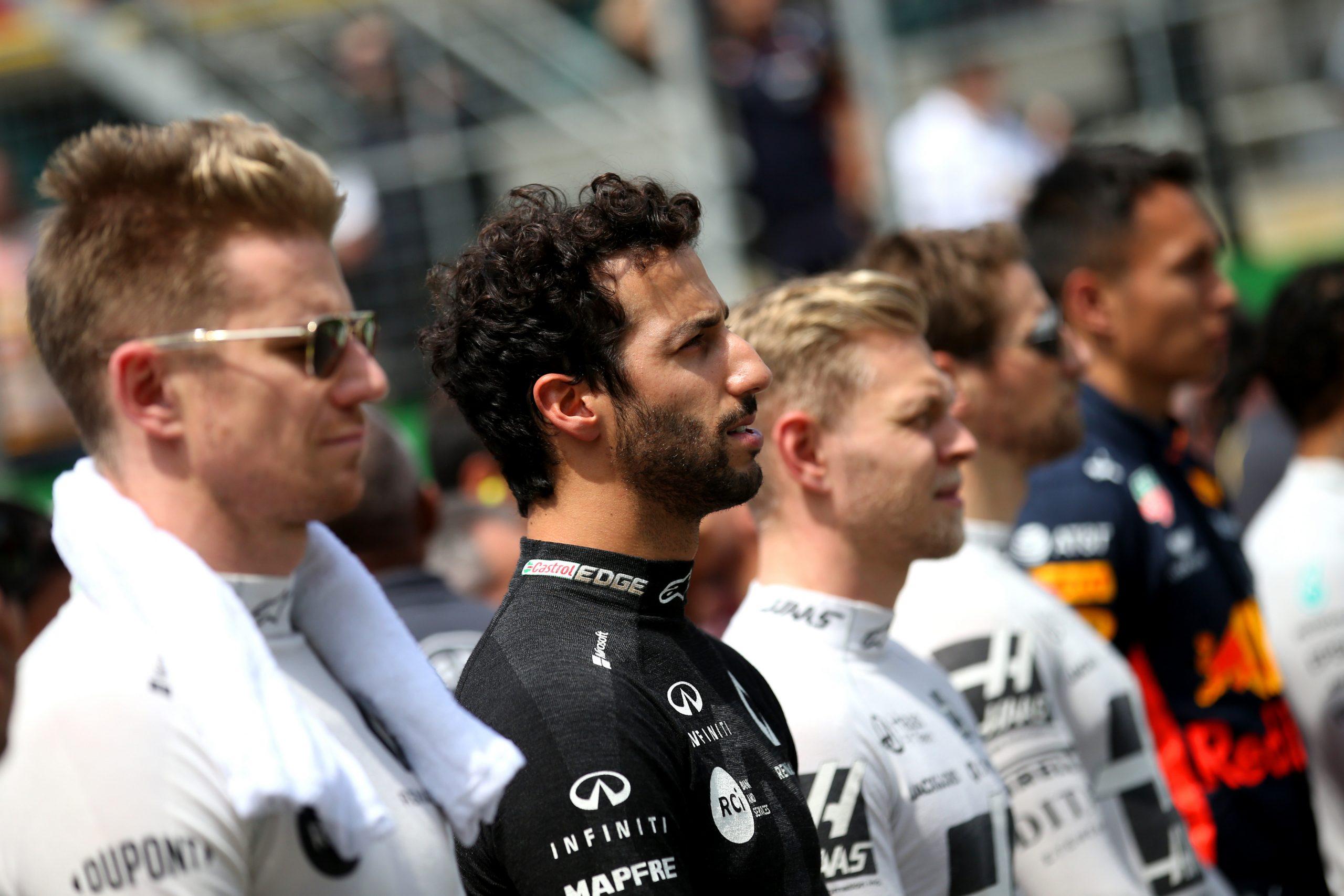 Daniel Ricciardo Nico Hulkenberg Renault