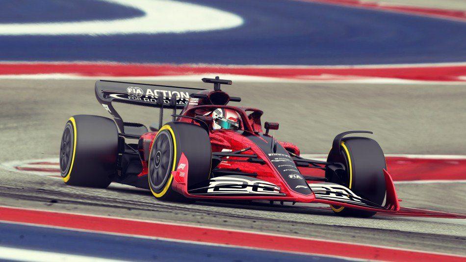 monoplace de F1 en 2021