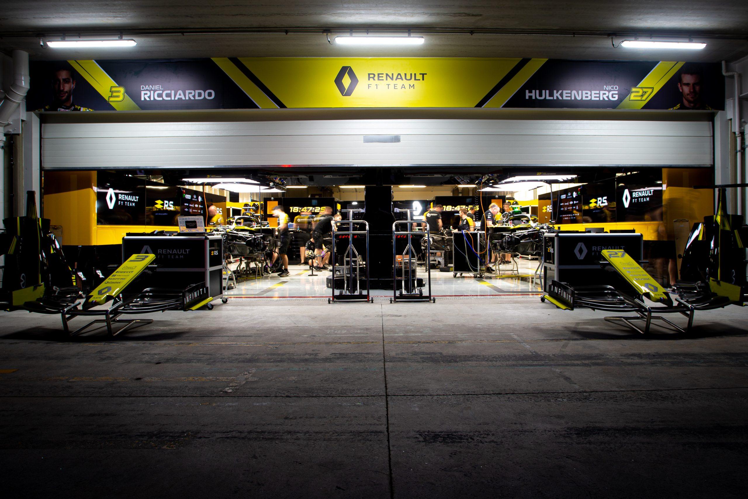 Garage Renault F1
