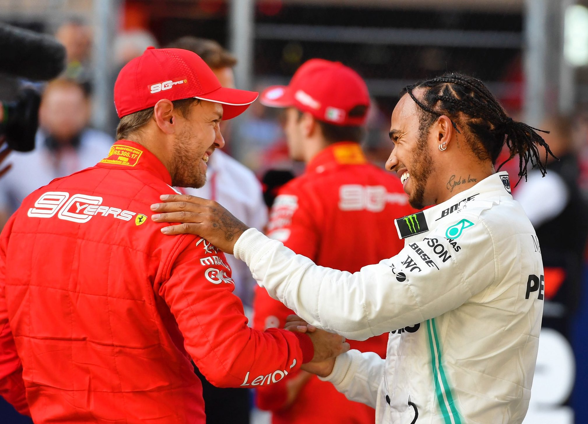 sebastian Vettel Mercedes 2021