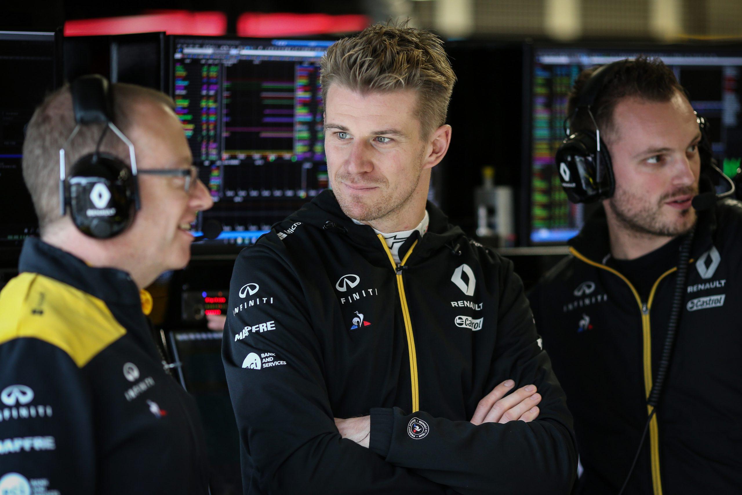 Nico Hülkenberg renault f1 team