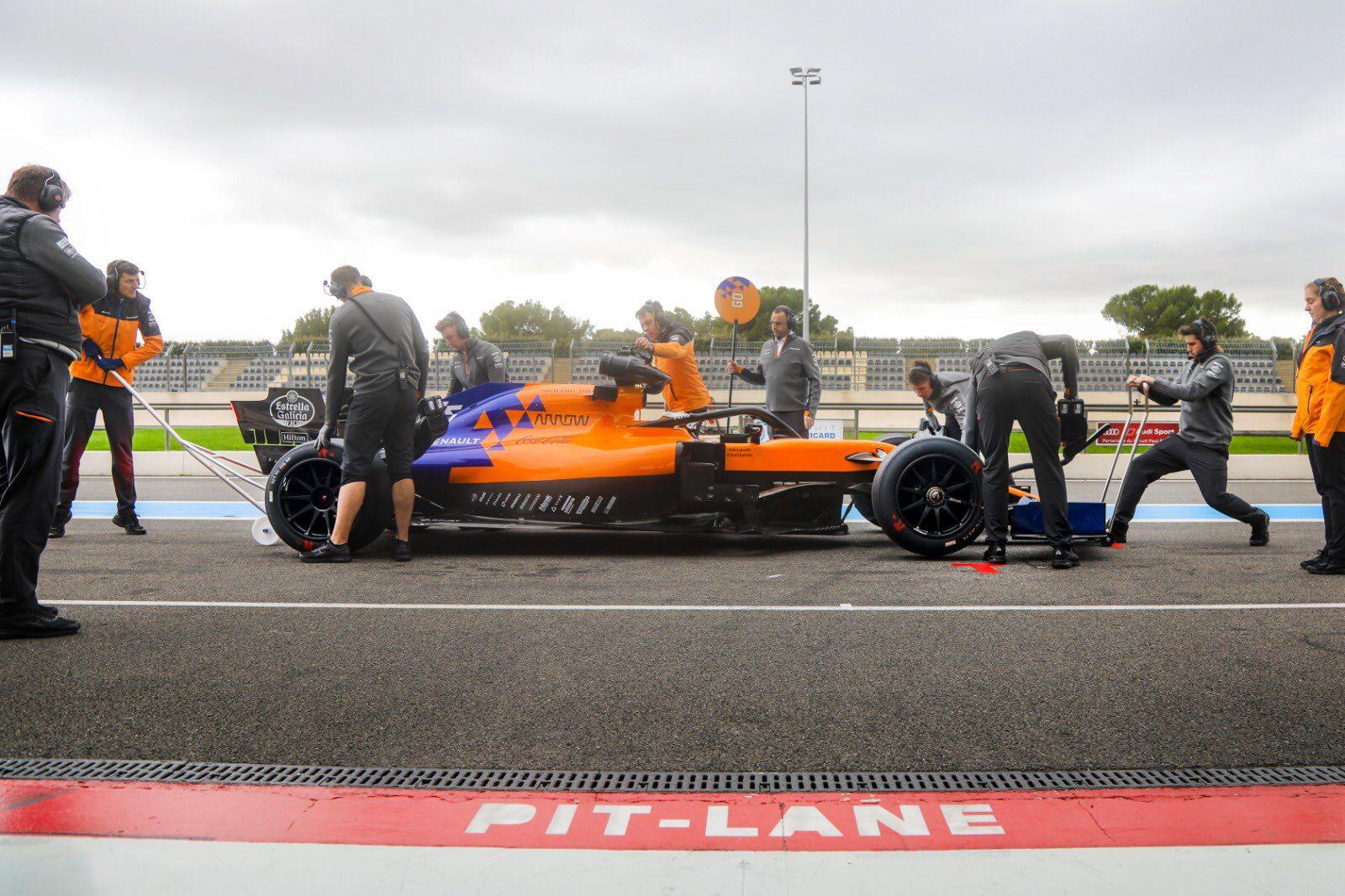 pneus 18 pouces pirelli mclaren