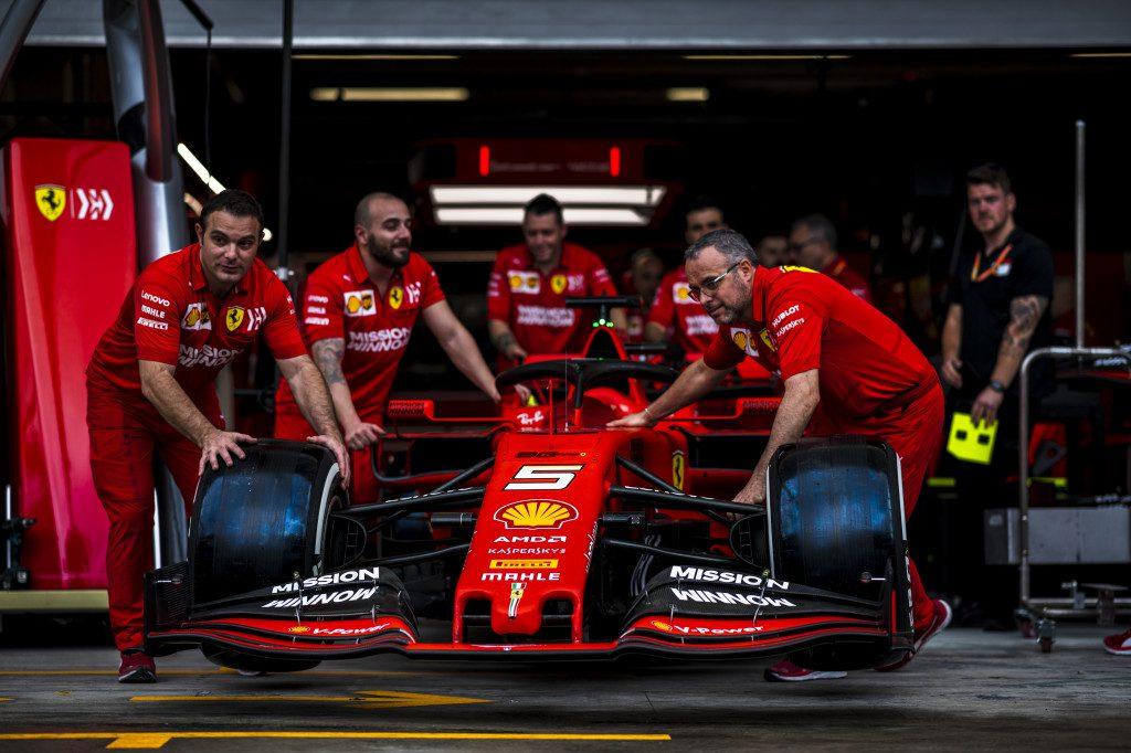 scuderia Ferrari sebastian Vettel SF90