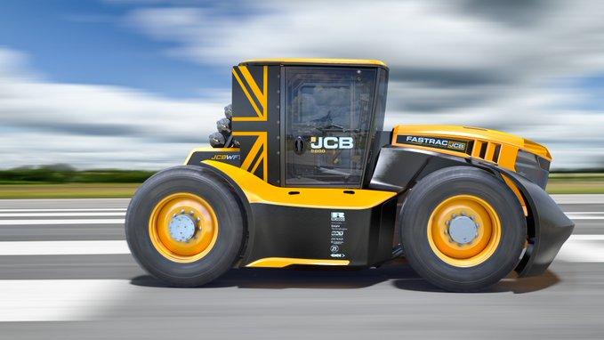 tracteur JCB Williams