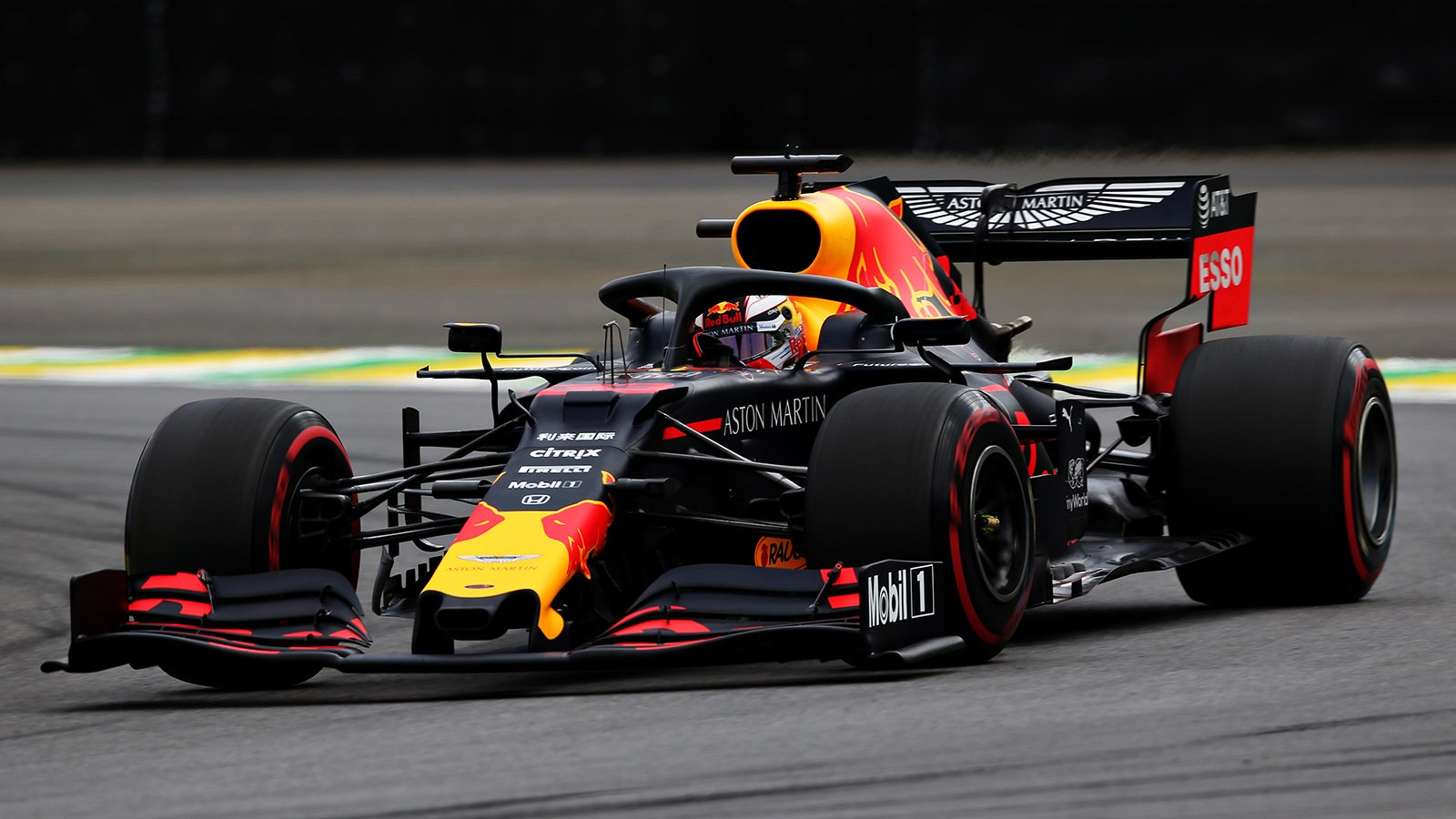 Max Verstappen en pole position au Brésil 1