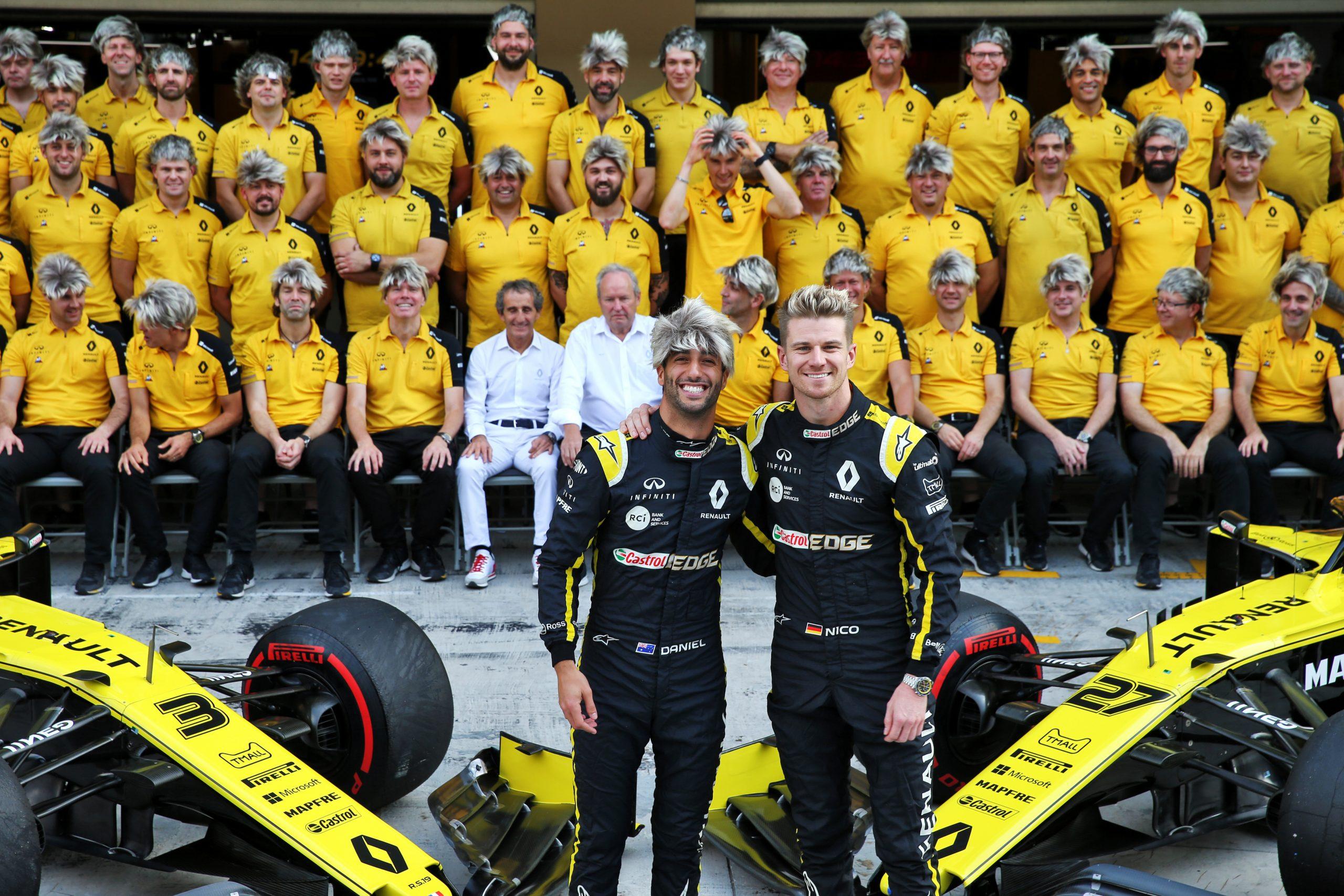 F1 Renault F1 grand prix d'abou dhabi