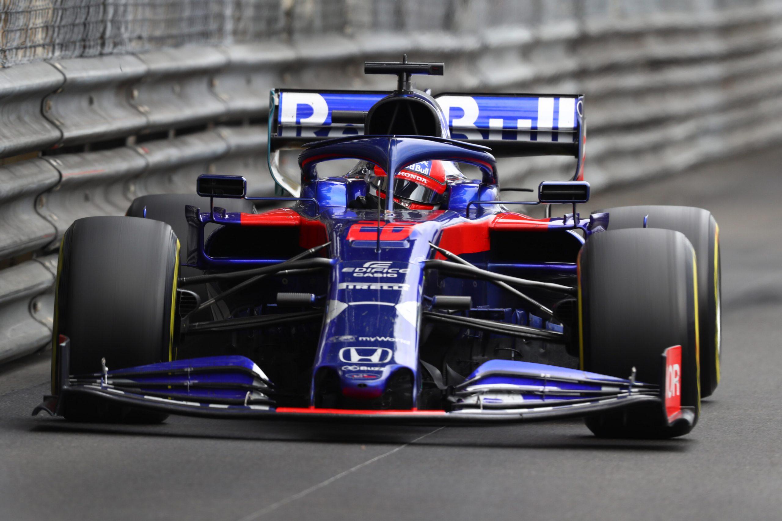 daniil kvyat au Grand Prix de Monaco 2019 Toro Rosso