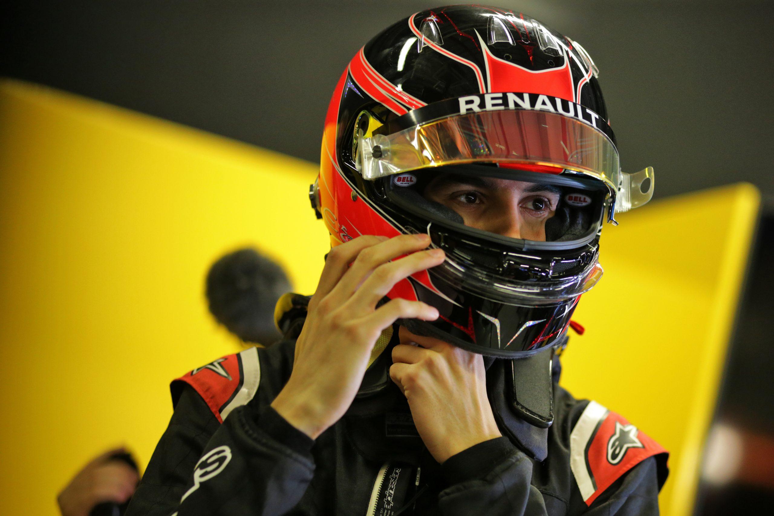 esteban Ocon Renault f1 team 2020