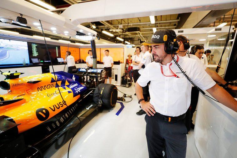 l'Espagnol Fernando Alonso chez McLaren