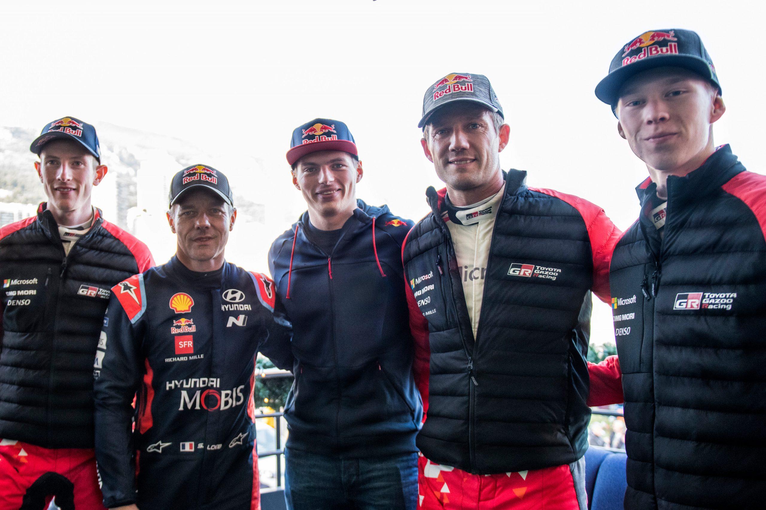 max Verstappen WRC