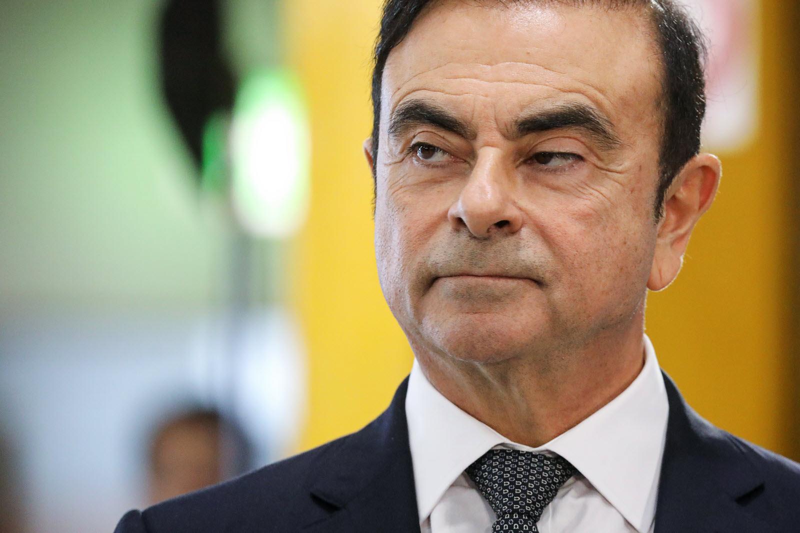 carlos ghosn Renault retraite
