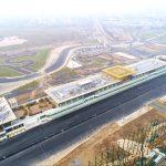 Le bâtiment de la voie des stands est achevé à Hanoï 2