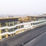 Le bâtiment de la voie des stands est achevé à Hanoï 1