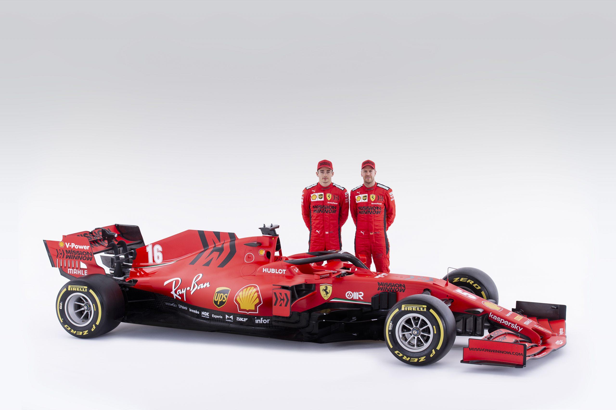 F1 - Vettel sera le premier en piste avec la Ferrari SF1000 à Barcelone