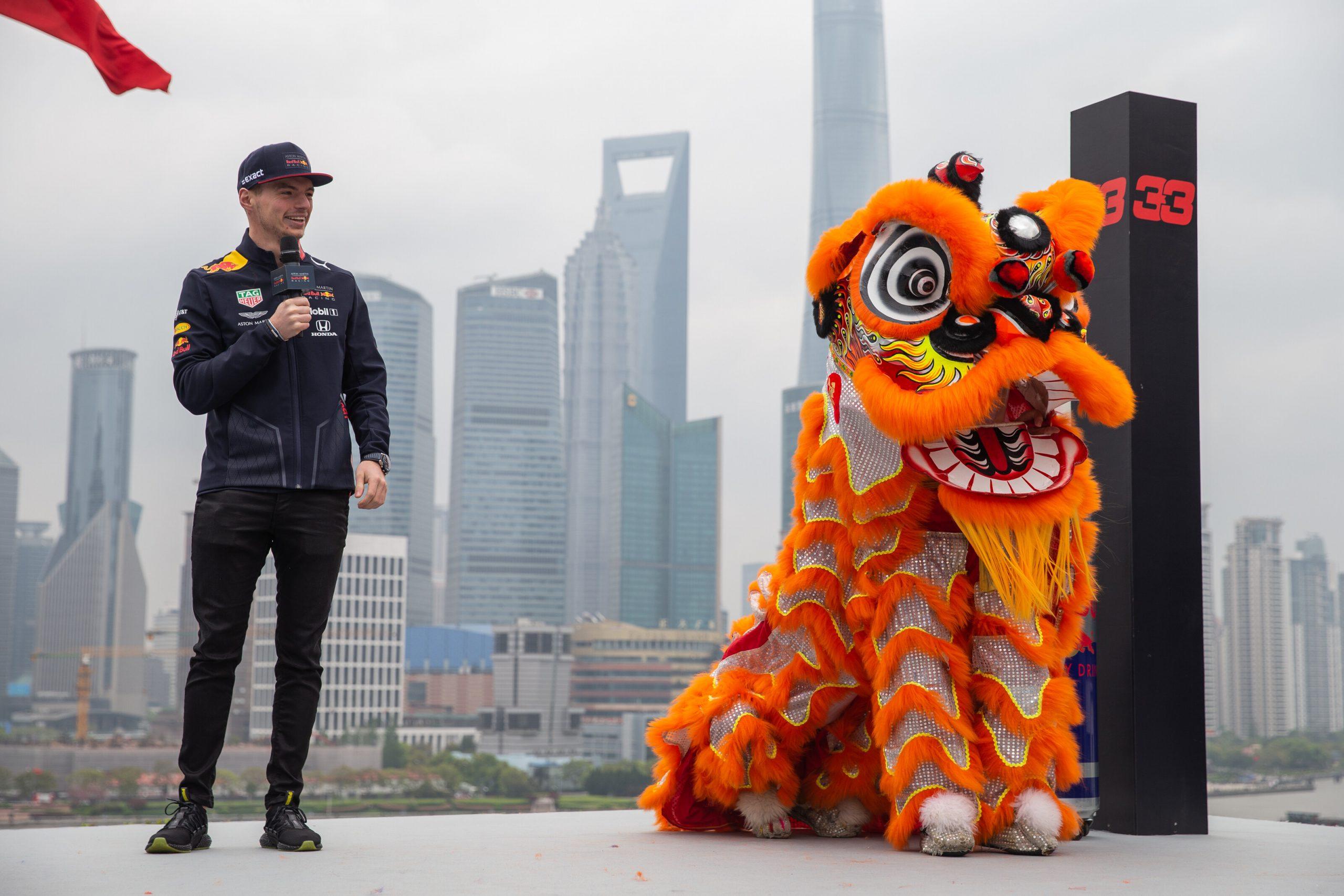 grand prix de Chine Max Verstappen 2019