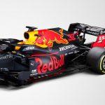 arrière de la Red Bull RB16