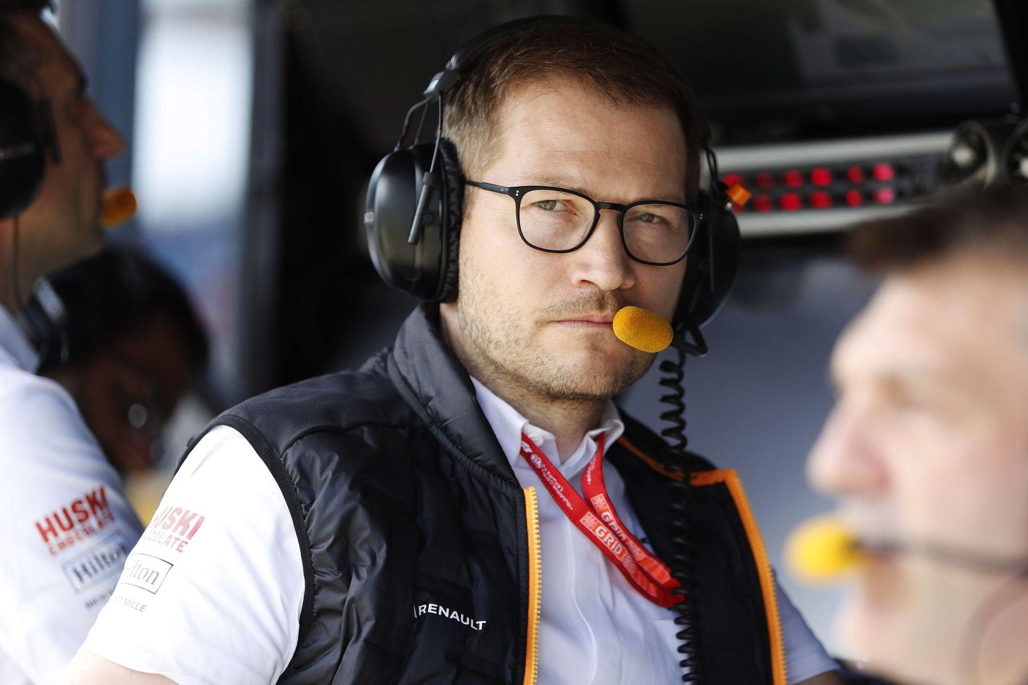 andreas Seidl team principal de l'équipe McLaren en F1