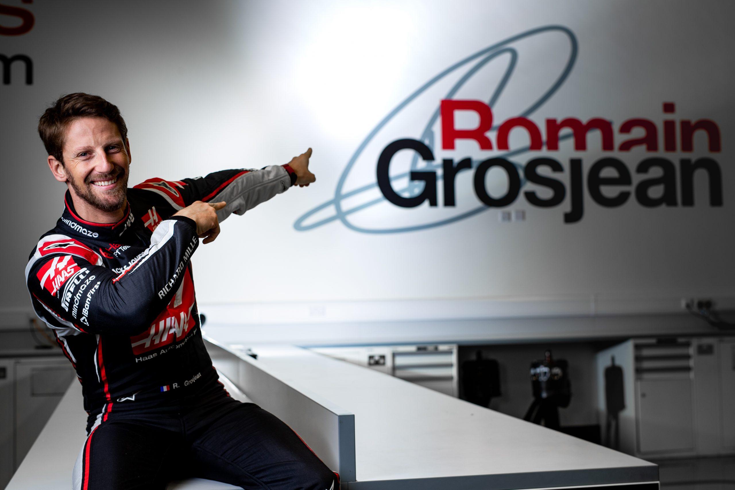 """Grosjean : """"Les essais c'est sympa, mais la course c'est bien mieux"""" 1"""