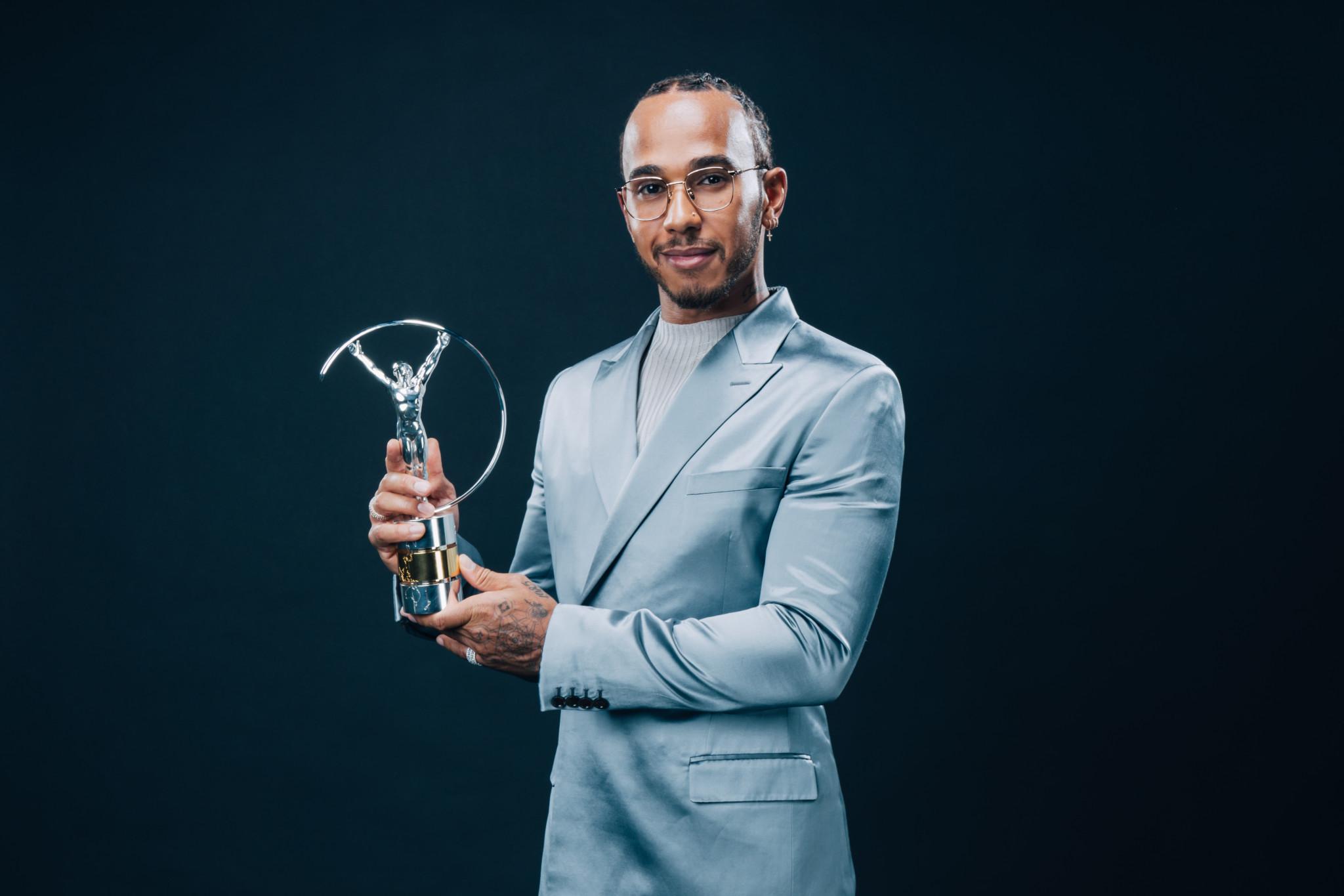 Lewis Hamilton élu sportif de l'année au côté de Lionel Messi 1