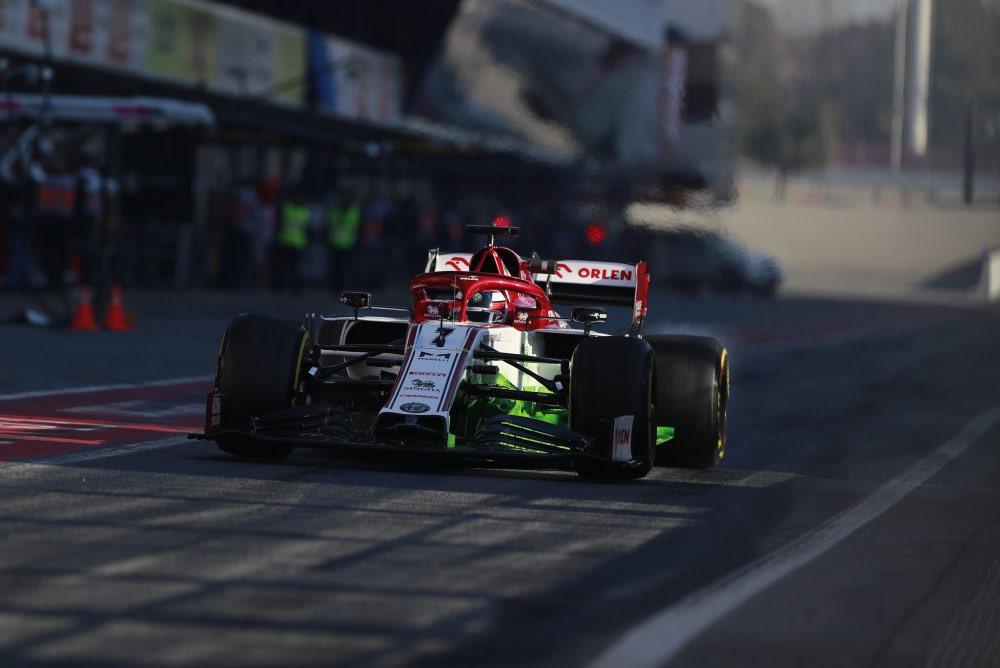 essais hivernaux F1 2020 Raikkonen