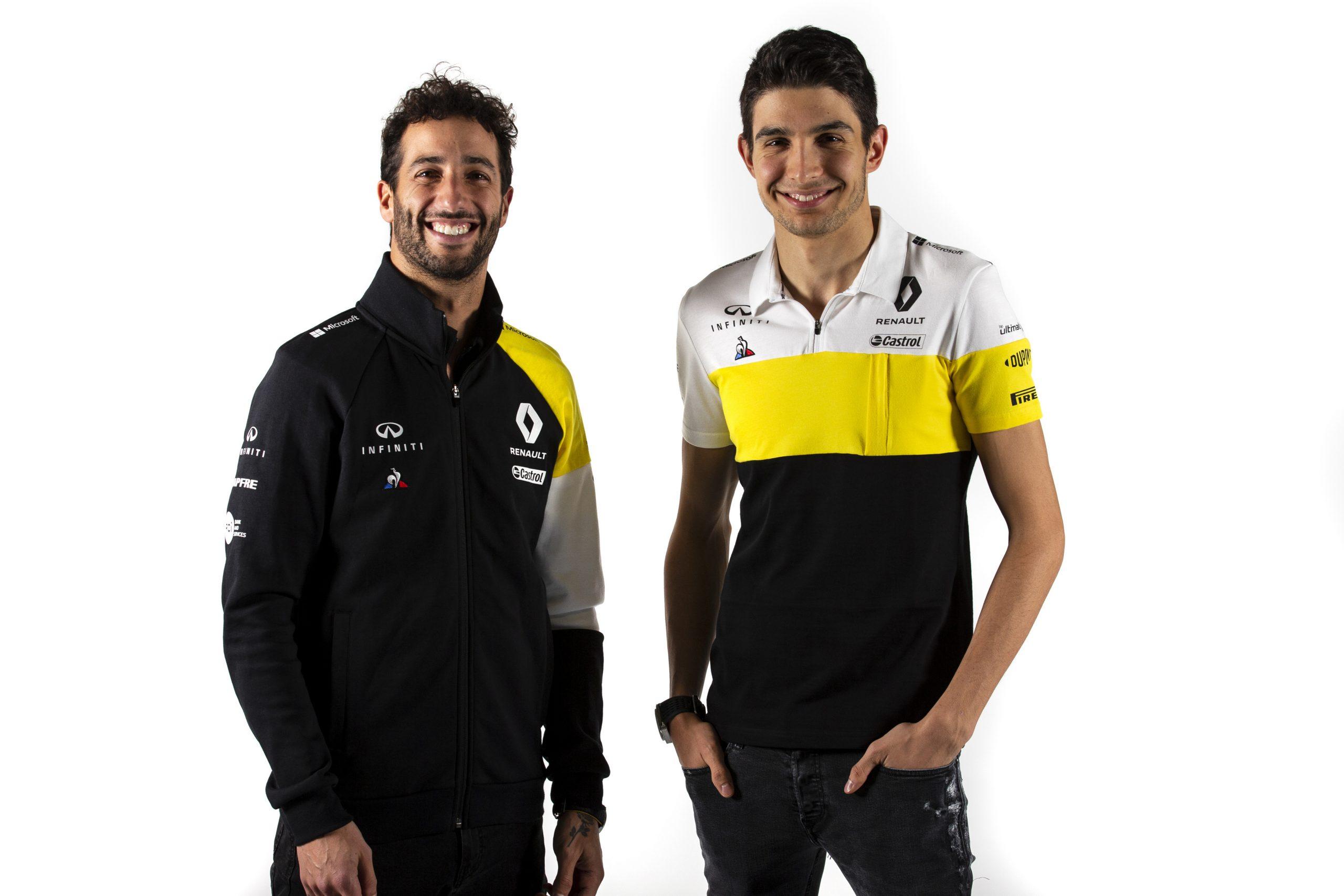 pilotes Renault 2020