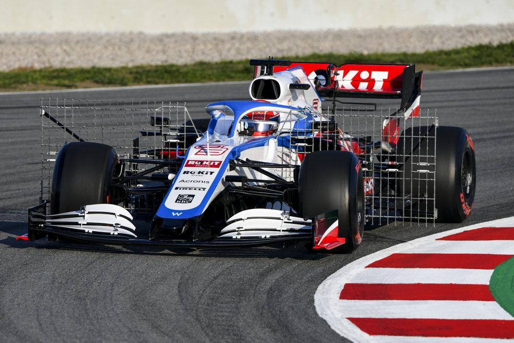 williams Racing Barcelone