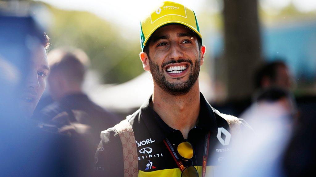 daniel Ricciardo Renault