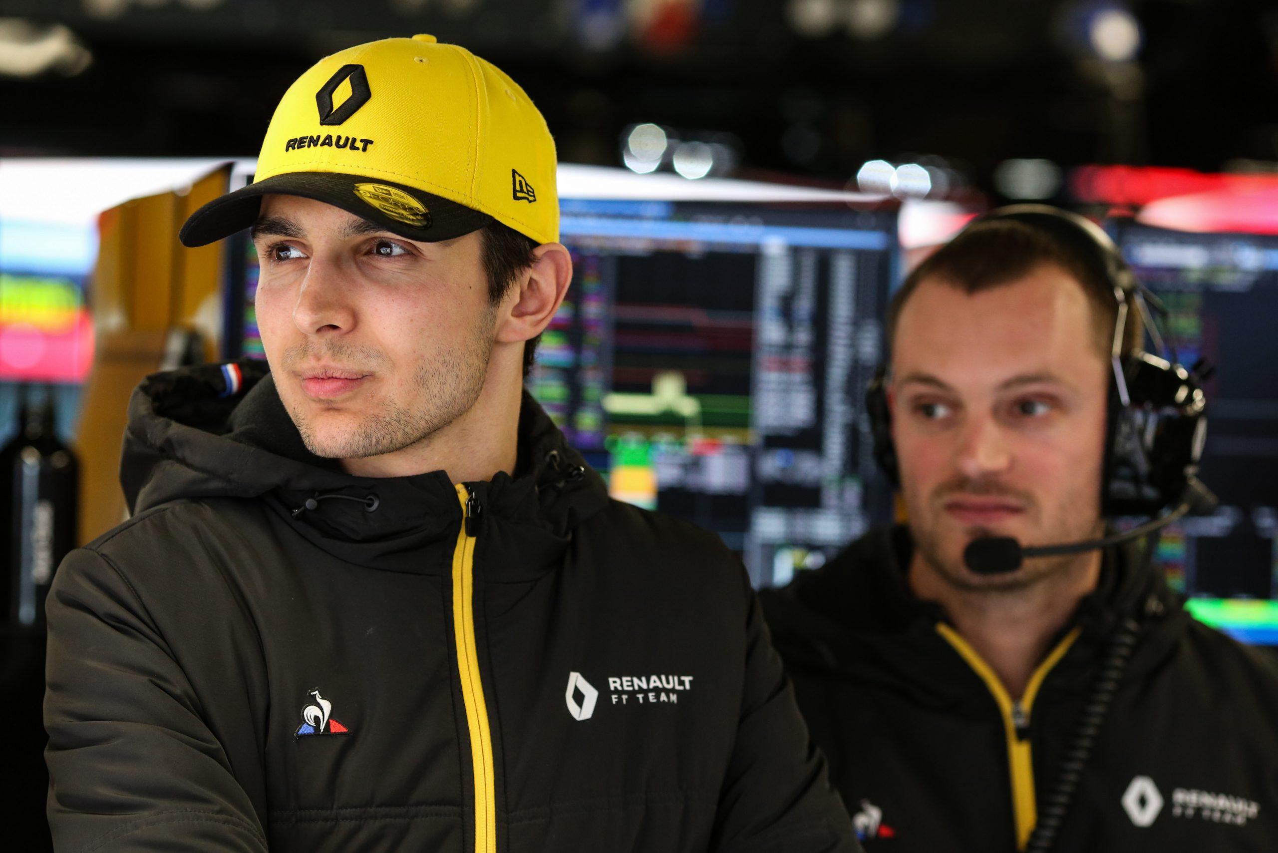 Esteban Ocon Renault F1