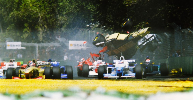 Martin Brundle revient sur son accident au GP d'Australie 1996 11