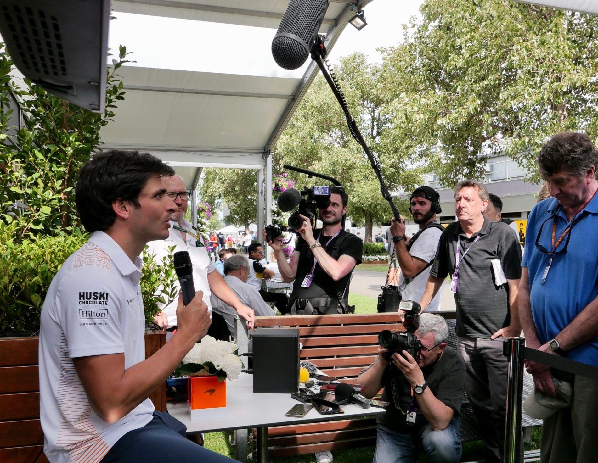 carlos sainz McLaren F1