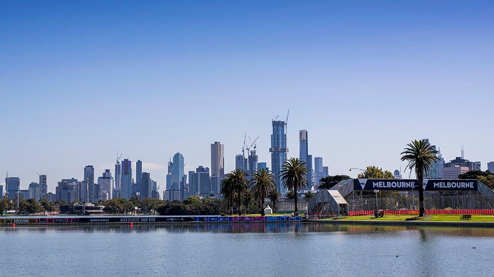 circuit de Melbourne Australie