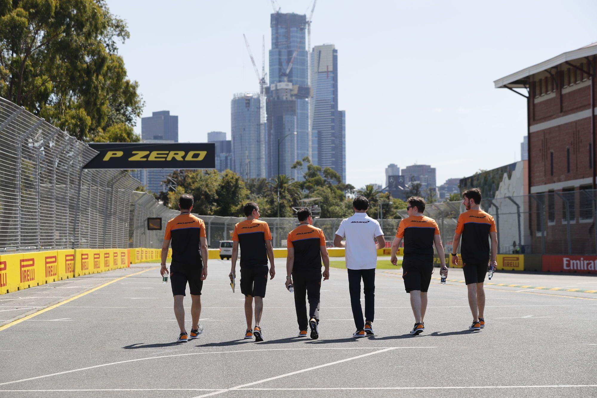 personnel équipe McLaren