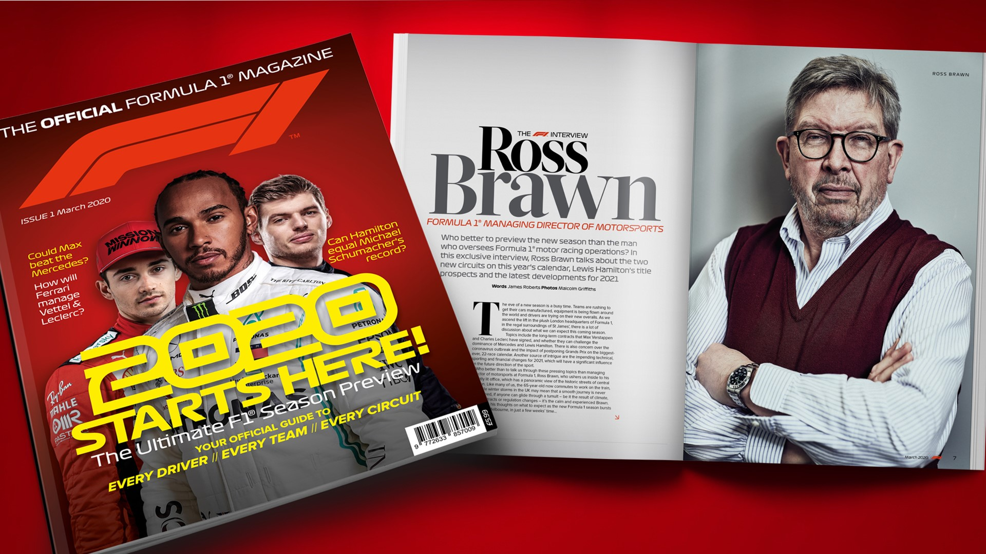 La Formule 1 lance son magazine officiel 14