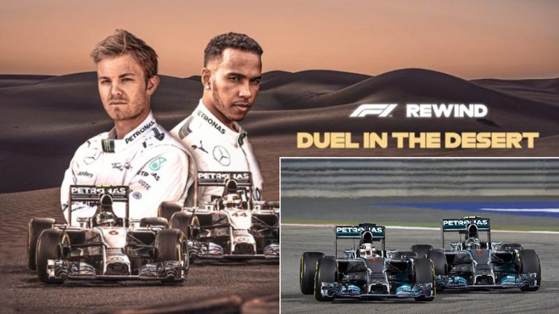 """La F1 rediffuse le """"duel dans le désert"""" ce samedi 28 mars 23"""