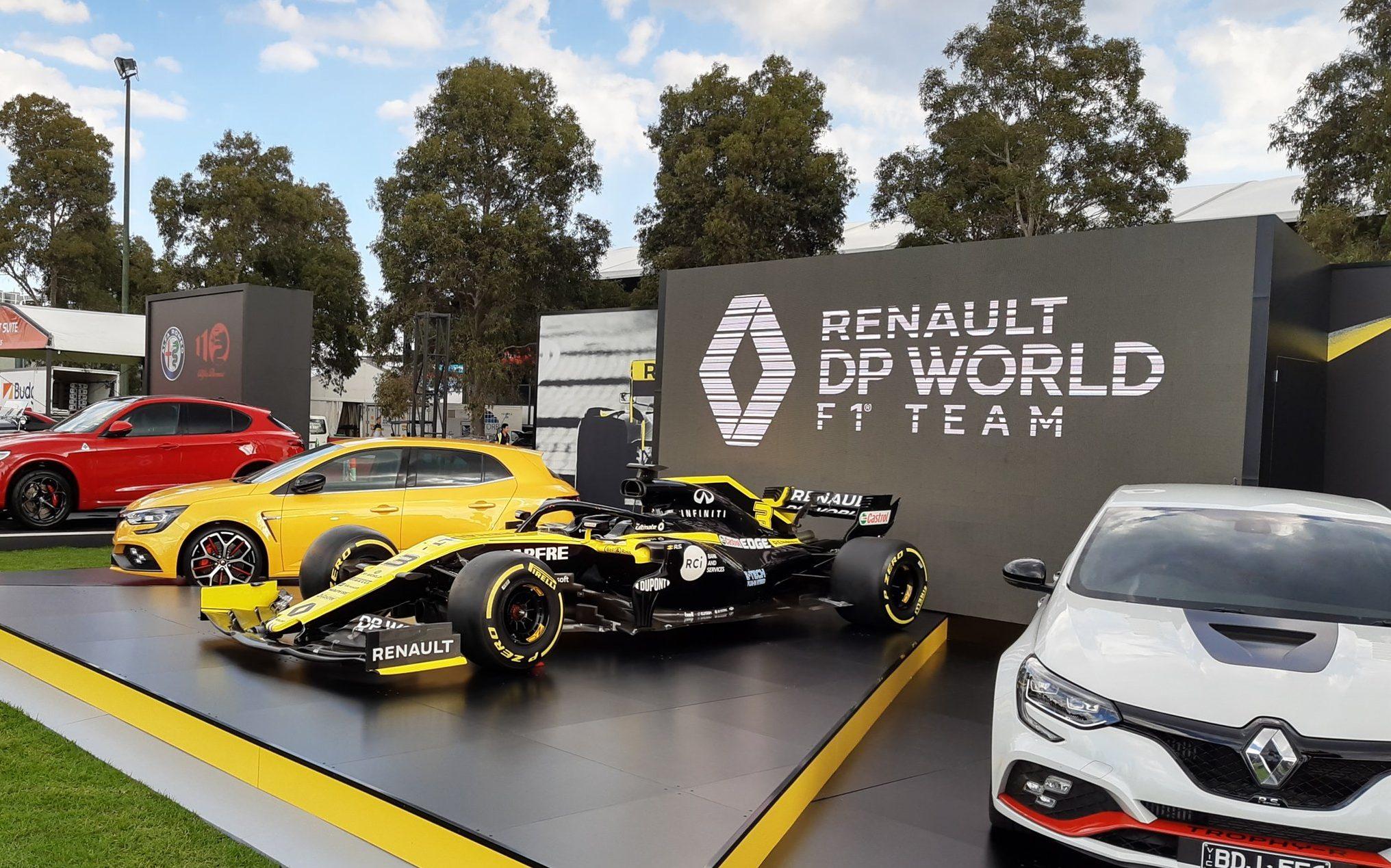 DP World Renault F1