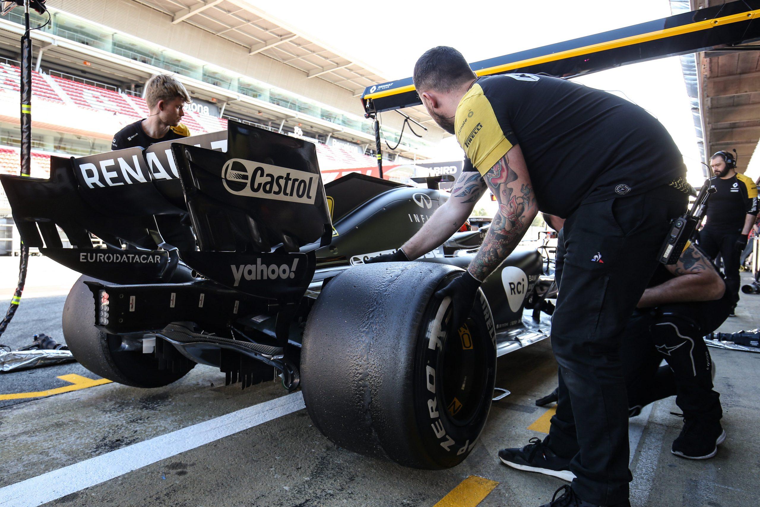 F1 - Renault prolonge son partenariat avec Eurodatacar