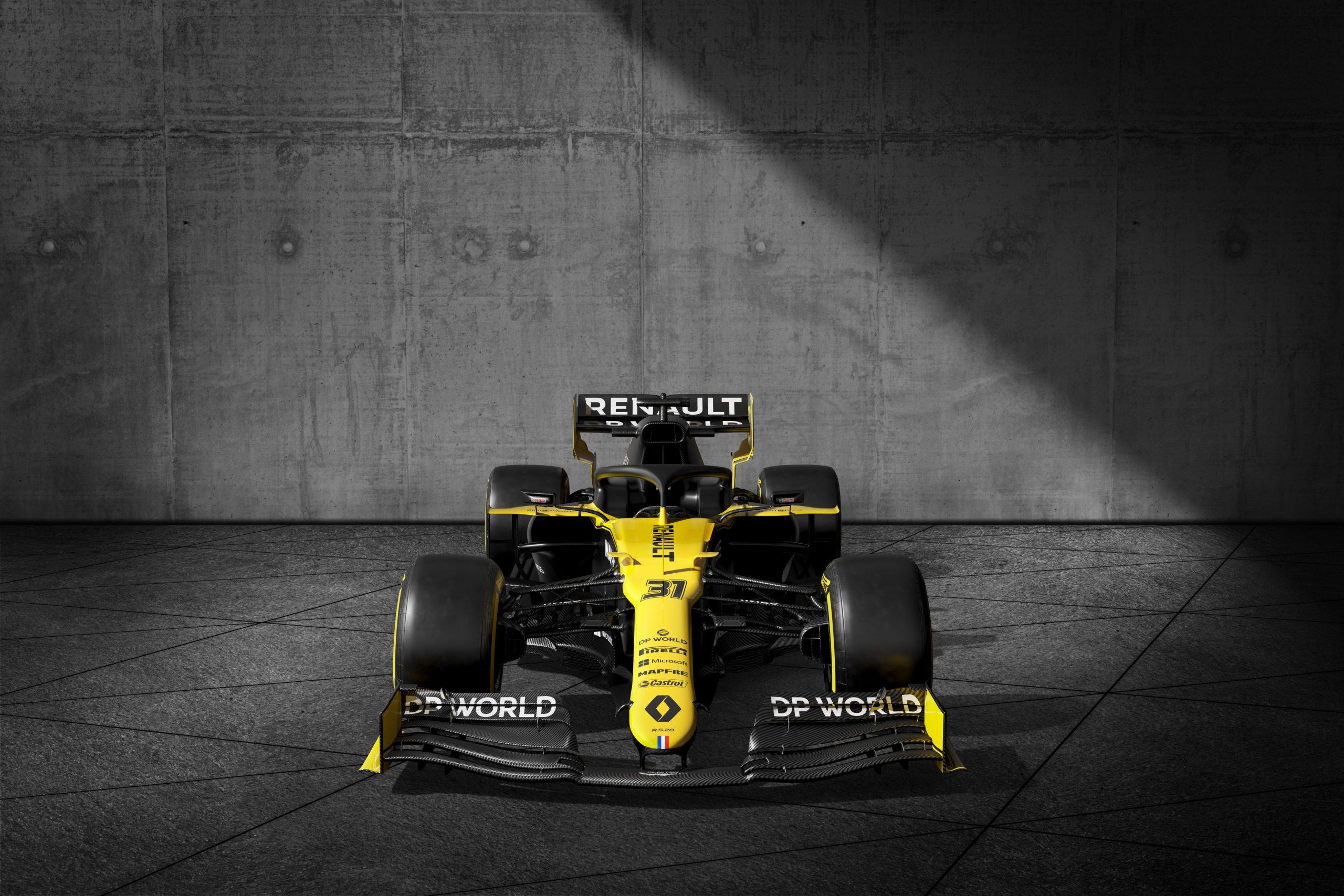 livrée Renault RS20